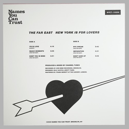 The Far East - New York Is For Lovers