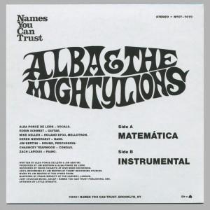 Alba & The Mighty Lions - Matemática