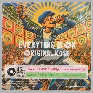 Original Kose w/Little B - Love Cumbia